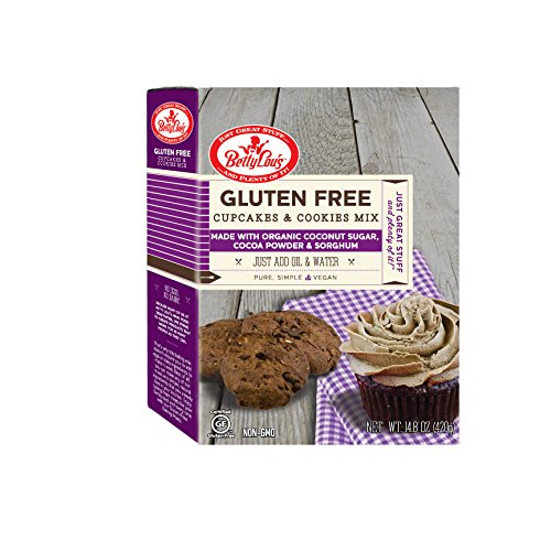 Betty Lou's Gluten Free Cupcake and Cookie Mix, 16 Ounce