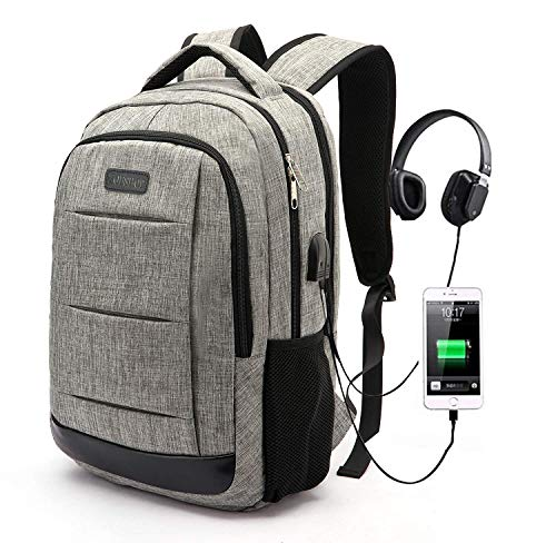 ab6d2328bb4e Laptop Backpack, Business Anti Theft Waterproof Travel Backpack with ...
