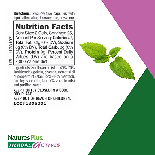 Natures Plus Herbal Actives Optifresh Herbal Breath Gels (12 Pack) - 50 Count - Maximum Potency Natural Bad Breath Remedy, Herbal Halitosis Relief - 300 Total Serving by Nature's Plus (Image #5)