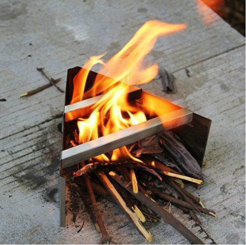 wood burning pack stove - 3