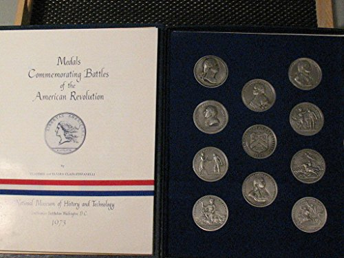 1973 US Mint America's First Medals U.S. Mint Complete Pewter Set 11-pieces Original Album and Papers Uncirculated