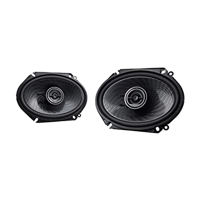 Kenwood KFC-C6896P 6x8 Inch 360 Watt Oval Custom Fit 2 Way Car Speakers (Pair): Car Electronics