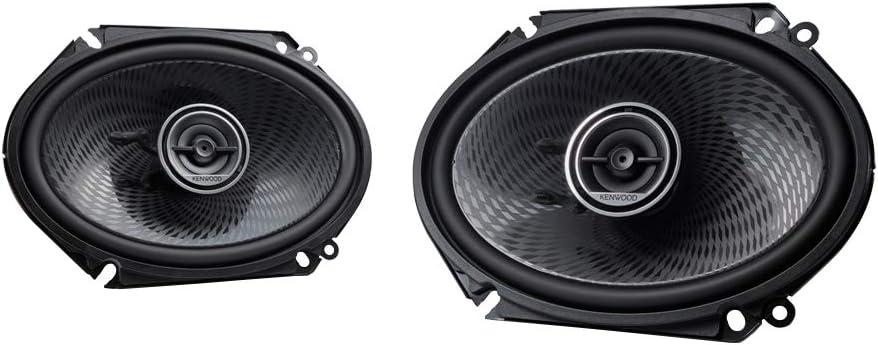 Kenwood KFC-C6896P 6x8 Inch 360 Watt Oval Custom Fit 2 Way Car Speakers (Pair)
