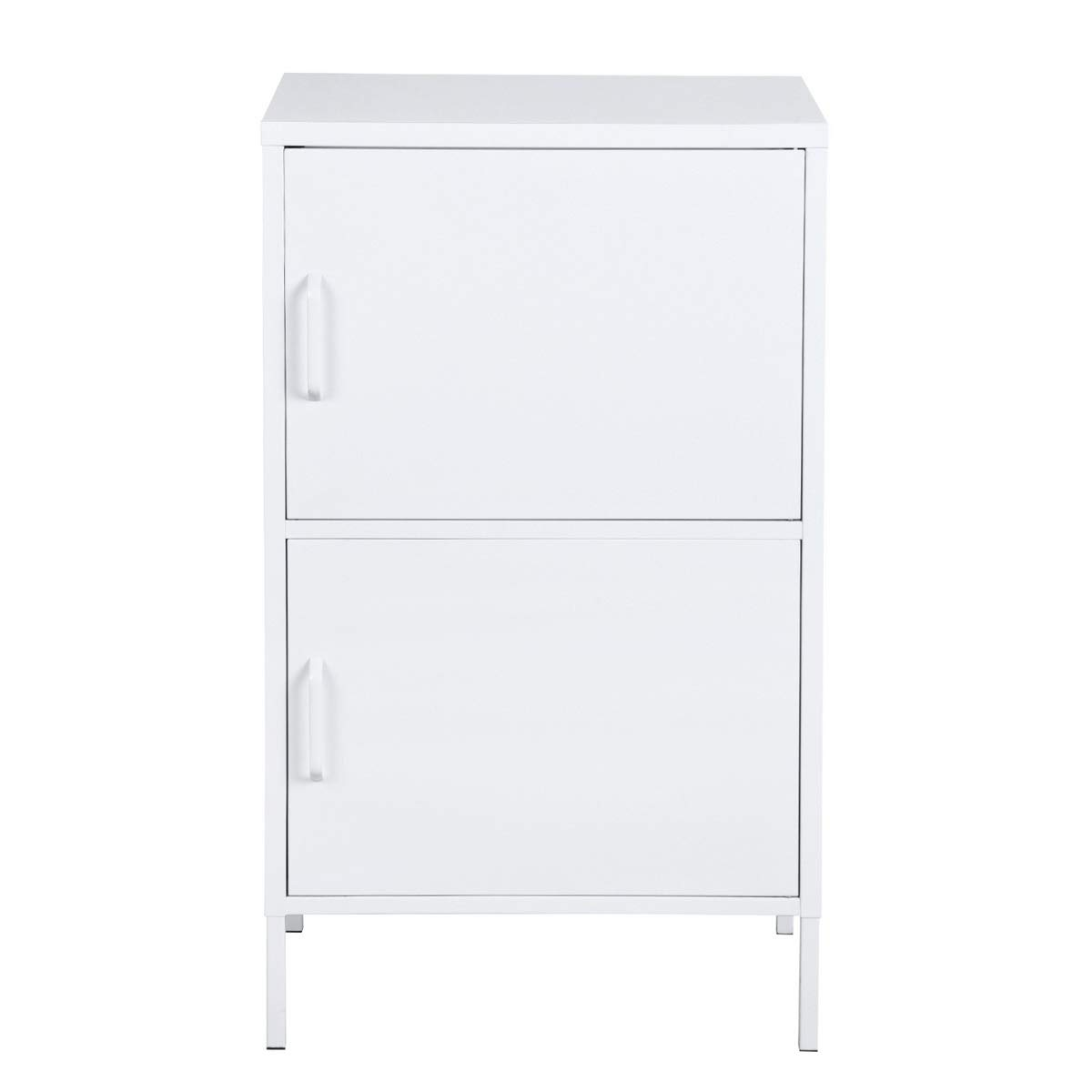 HouseinBox Small Metal Storage Carbinet Perfectly Made Two Door Locker for Better Organization Metal Locker for Home and Office by HouseinBox