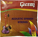 Guitar Strings Givson (Acoustic Strings) Set Of 6 Strings