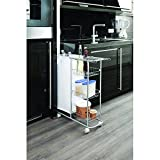 WENKO 12100100 Collecting trolley Slim - 3