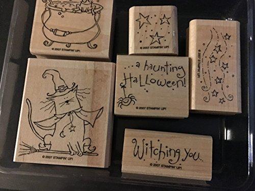 Stampin Up Halloween Stamp Sets (Stampin' Up! Haunting Halloween Stamp)