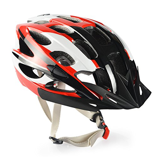 Chaokele Adults Protect Safe Skate Bike Helmet Red