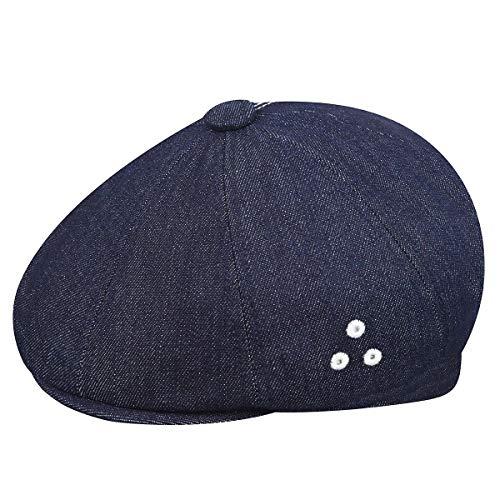 - Kangol Men's Denim Stitch Hawker Ivy Cap, Indigo, XL
