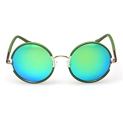 Gafas de sol polarizadas para mujer Gafas de sol con montura redonda Gafas de sol con