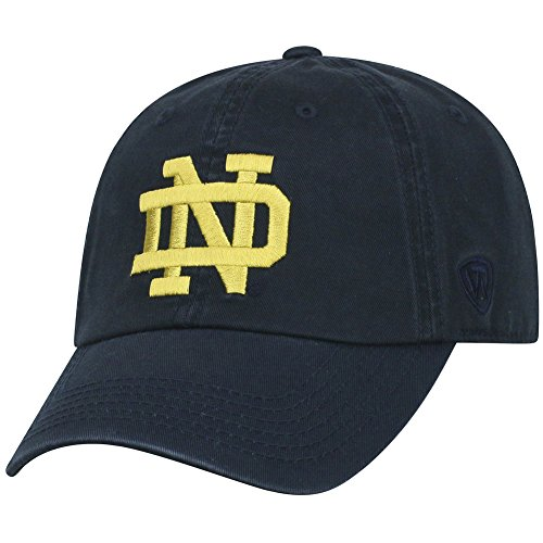 Elite Fan Shop Notre Dame Fighting Irish Hat Navy - Blue Navy