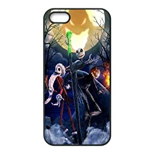 Classic Case The Nightmare Before Christmas pattern design For Apple iPhone 5,5S Phone Case