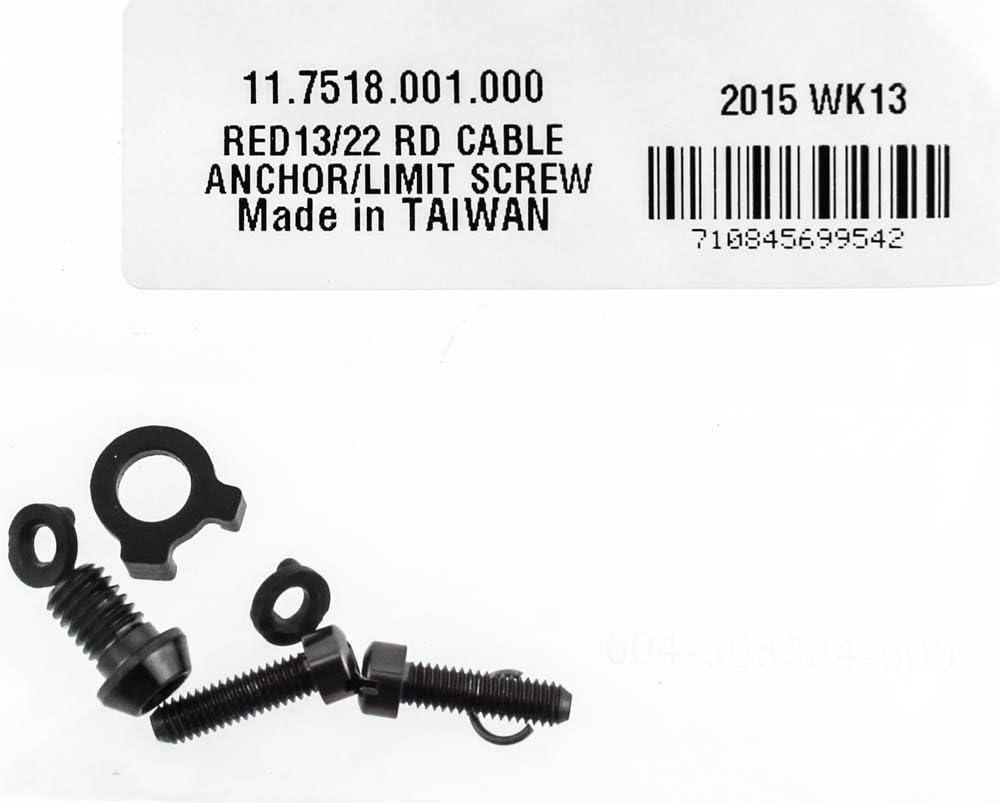 SRAM Cable Anchor//Limit Screw for Rear Derailleur Red 2013 Aero Glide 11.7518.001.000