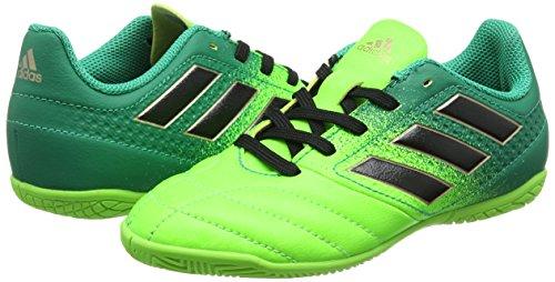 Adidas Unisex-Kinder Ace 17.4 in J für Fußballtrainingsschuhe, Grün (Versol/Negbas/Verbas), 31.5 EU