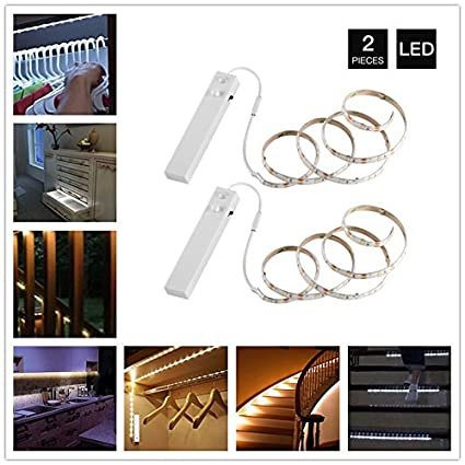 Aoile 5V LED Night Light ,Flexible Led Strip with Motion Sensor Bar Lamp,Human