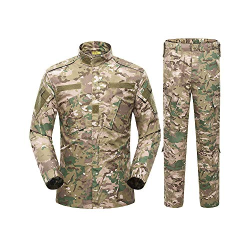Bdu Army Uniform (HEMA1 Men Tactical Suit Army Military Uniform Training Jacket & Pants Combat Coat Set)