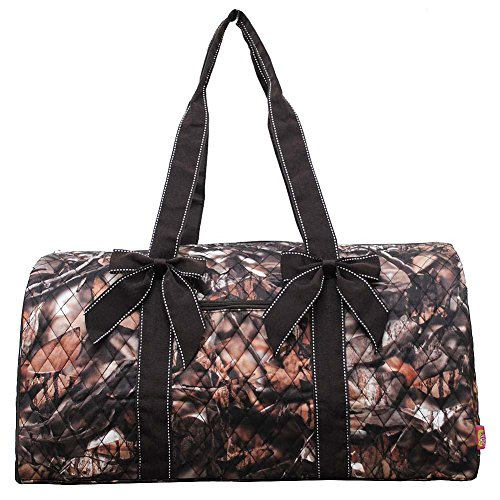 NGIL Themed Prints Large Quilted Duffle Bag