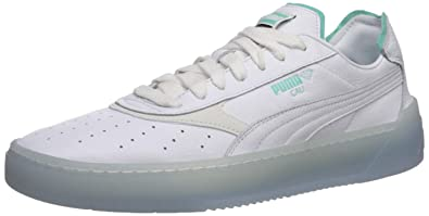Details about Puma Cali O Diamond Supply 36939901 Mens White Classic Low Top Sneakers Shoes