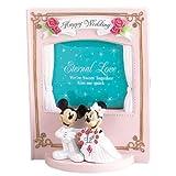 Wedding Photo Frame Mickey & Minnie (Disney) KD-547 (japan import)