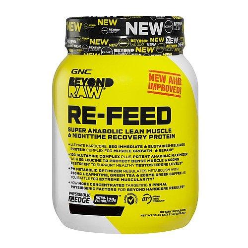 GNC Beyond RAW RE-FEED - Vanilla Cake Batter 2.05 lb(s).