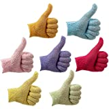 Best Exfoliating Gloves - 7 Pairs Double Sided Exfoliating Bath Gloves Review