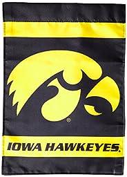 NCAA Iowa Hawkeyes 2-Sided Garden Flag