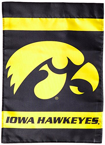 BSI NCAA Iowa Hawkeyes 2-Sided Garden Flag