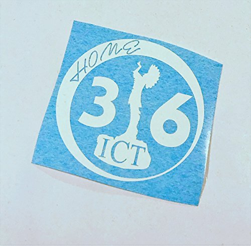 City Scene Vinyl - ICT Wichita 316 Keeper of The Plains Home | Vinyl Decal Art