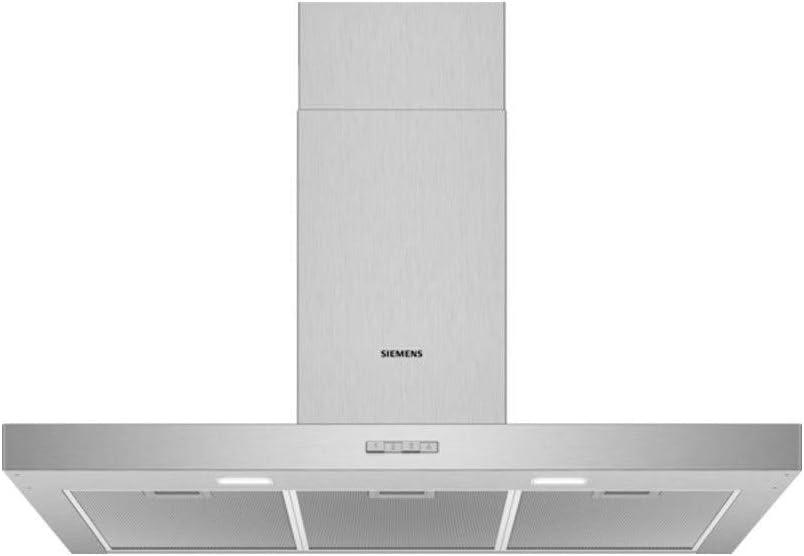 Siemens Campanas EXTRACTORAS, Plata, 90 x 50 x 60 cm: 224.82: Amazon.es: Hogar