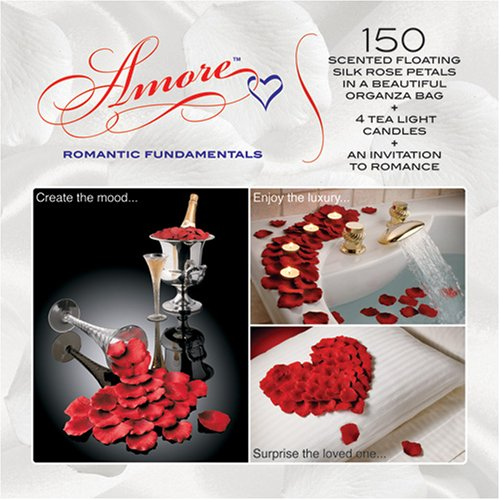 Valentine Amore Romantic Gift Set - Bed of Roses Scented for sale  Delivered anywhere in USA
