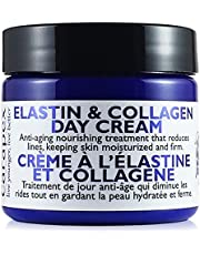 Carapex Face Day Cream with Anti Aging Firming Elastin & Collagen, Contains Natural Shea Butter and Vitamin E, Anti Wrinkle, Fragrance Free for Dry to Combination Skin, 2oz 60ml