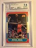 1986-87 Fleer Stickers #8 Michael Jordan BGS 7 (7, 6.5, 7, 8.5) (3037)