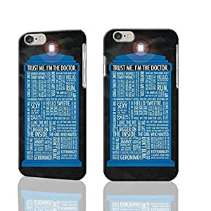 "Tardis Doctor Who Quotes 3D iphone 6 -4.7 inches Case Skin, fashion design image custom iPhone 6 - 4.7 inches , durable iphone 6 hard 3D case cover for iphone 6 (4.7""), Case New Design By Codystore"