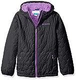 Columbia Big Girls' Bella Plush Jacket, New Black, Medium