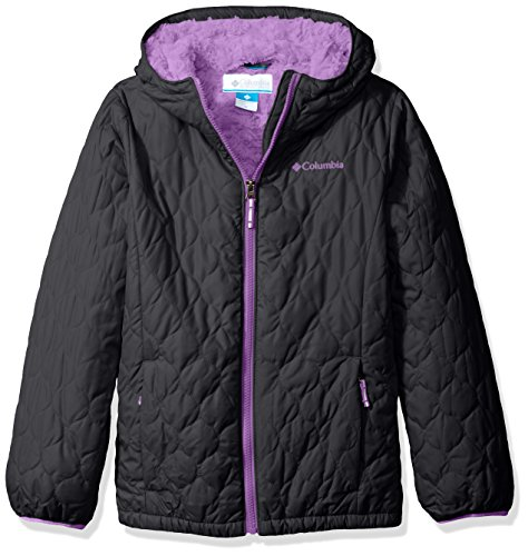Columbia Big Girls' Bella Plush Jacket, New Black, Medium by Columbia
