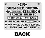 Durabilt Snatch Blocks 4 Ton with Swivel Hook