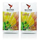 Bulletproof Whole Bean 12oz (Pack of 2) + Bonus Airtight Refillable Plastic Container