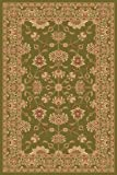 Rugs America New Vision Area Rug, 3-Feet 11-Inch by 5-Feet 3-Inch, Kashan Moss