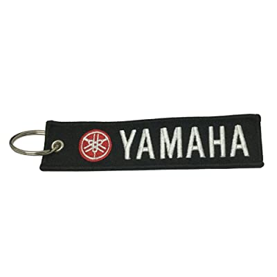 1pcs Tag Keychain for Yamaha Motorcycles Bike Biker Key Chain Accessories Gifts: Automotive