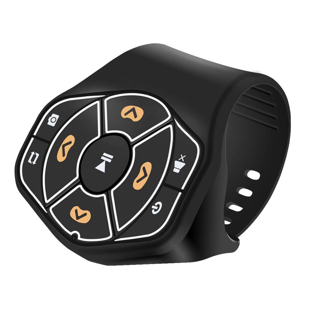 Wireless Car Steering Wheel Bluetooth4.0 Remote Control Buttons For Android IOS