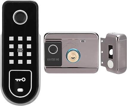 Cerradura de control electrónico inteligente antirrobo, admite cuatro métodos de desbloqueo Dis...