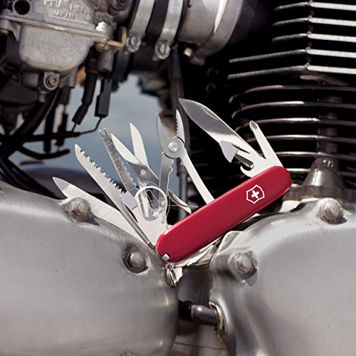 046928535019 - Victorinox Swiss Army SwissChamp Pocket Knife, Red carousel main 2