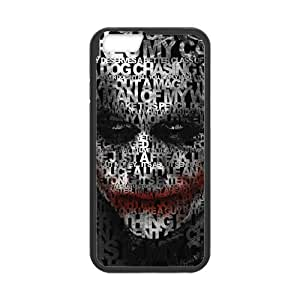 The Joker Quotes Cell Phone Hard Case for iPhone 6(4.7) Plastic and (Laser Technology)