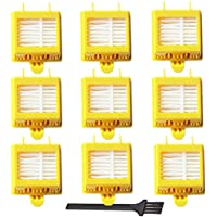 VacuumPal Hepa Filter Accessory Kit Replenishment for iRobot Roomba 700 Series 760 770 780 790 Including 9 Filters -Fully Compatible