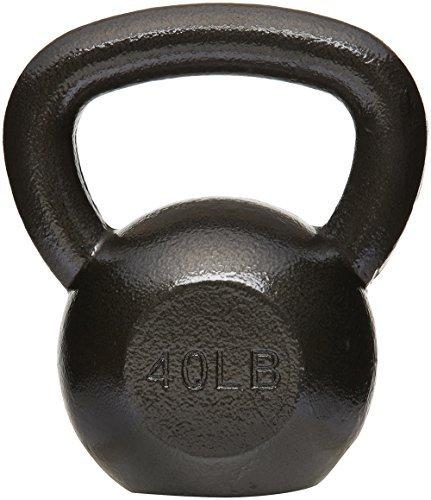 AmazonBasics Cast Iron Kettlebell, 40 lb by AmazonBasics (Image #1)