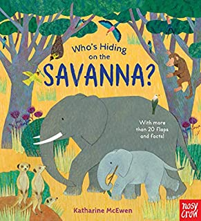 Book Cover: Who's Hiding on the Savanna?