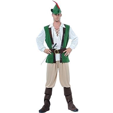 Robin Hood Verkleidung für Männer Halloween Party Fasching Karneval ...