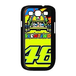Samsung Galaxy S3 9300 Cell Phone Case Black_Valentino Rossi_003 G6E5A