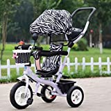 GOUGOU Children tricycle Bike Baby Bicycle Stroller