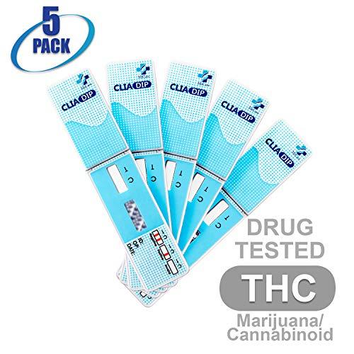 MiCare [5pk] - 1-Panel Urine Drug Test Card Marijuana/Cannabis (THC) #MI-WDTH-114